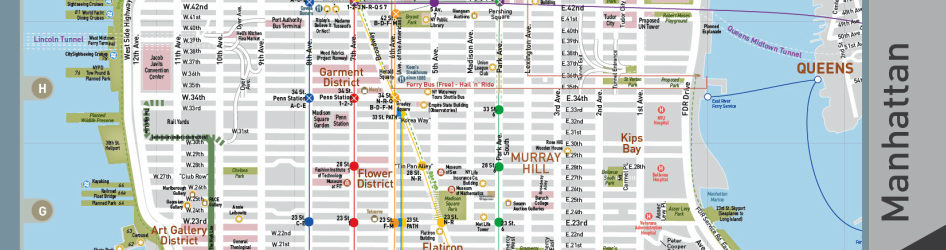 image about Map of Midtown Manhattan Printable named - Contemporary York Town Maps - Residence